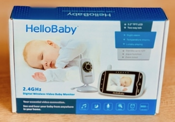 Hellobaby HB32 Babyphone Verpackung