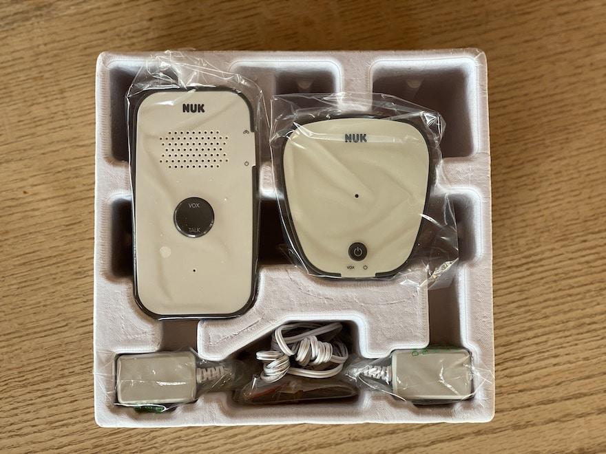 NUK Eco Control Audio 500 Lieferumfang
