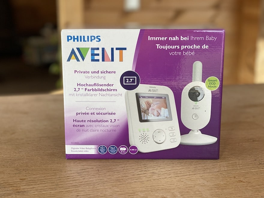 Philips Avent SCD 833 Verpackung