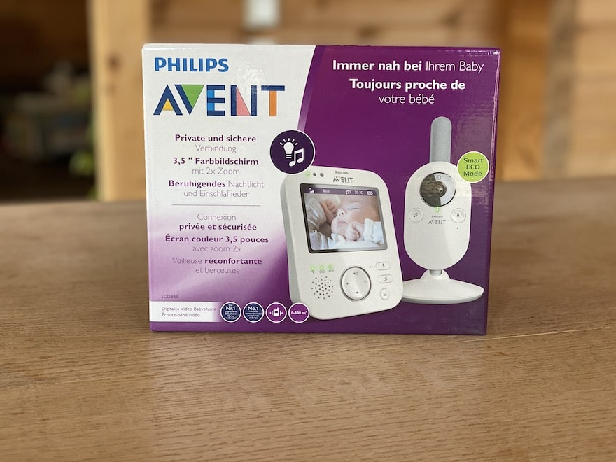 Philips Avent SCD 843 Verpackung