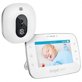 "Angelcare A0310-DE0-A1011 Babyphone mit Video-Überwachung AC310-D / 4.3"" Display, weiß - 1"