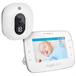 "Angelcare A0310-DE0-A1011 Babyphone mit Video-Überwachung AC310-D / 4.3"" Display, weiß - 1"