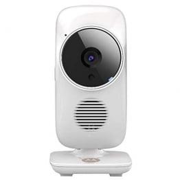 Motorola Baby MBP 67 Connect Video Babyphone , Weiße WI-FI Baby Überwachungskamera , 2-Wege-Kommunikation durch integrierte Gegensprechfunktion - 1