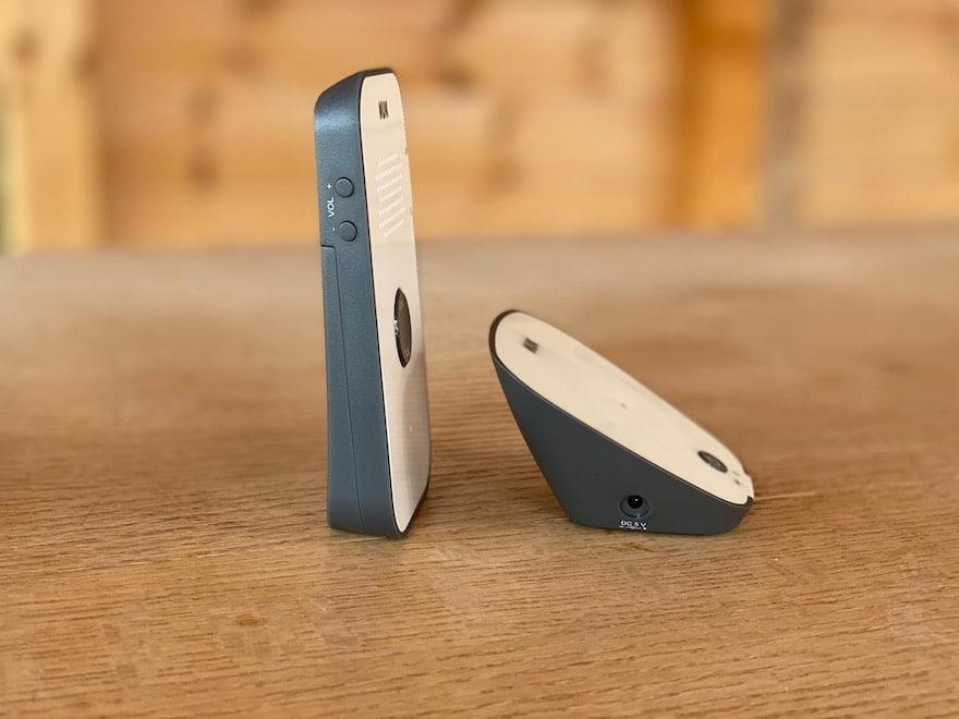NUK Eco Control 500 Babyphone Seitenansicht