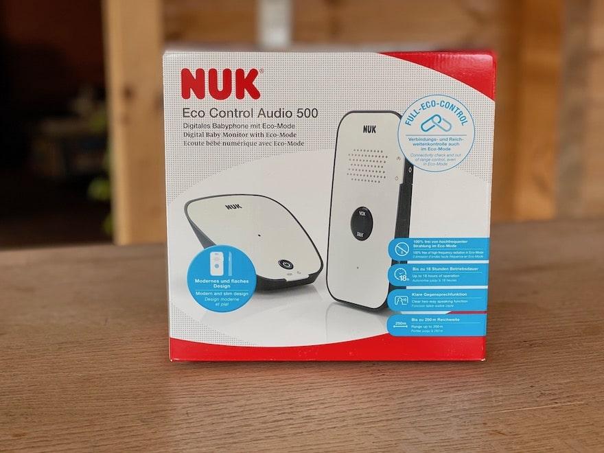 NUK Eco Control 500 Babyphone Verpackung