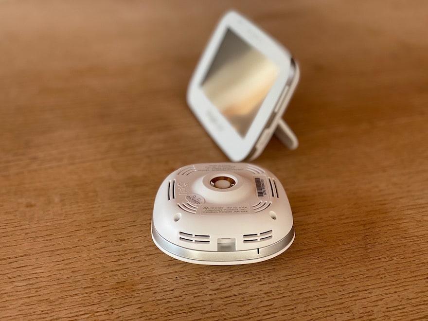 Angelcare AC 527 Video Babyphone Seitenansicht