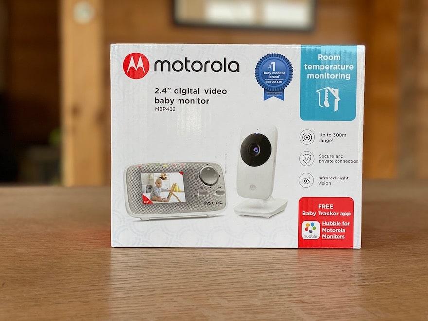 Motorola MBP 482 Babyphone Verpackung