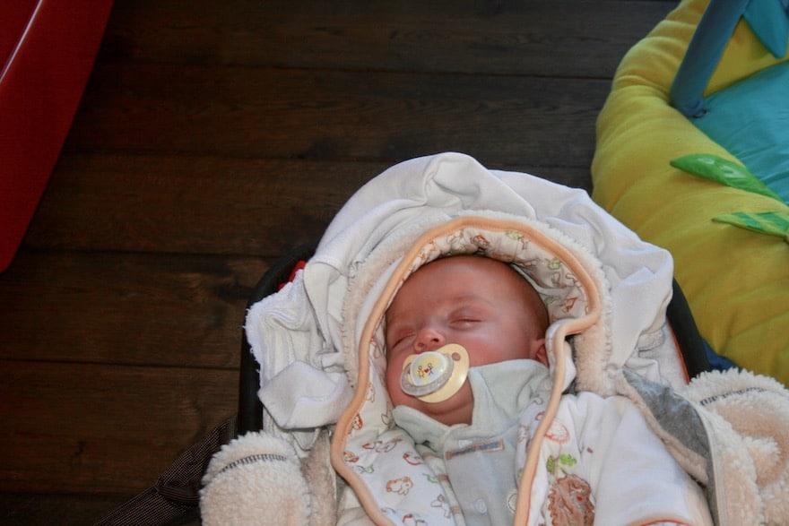 Baby Anpusten