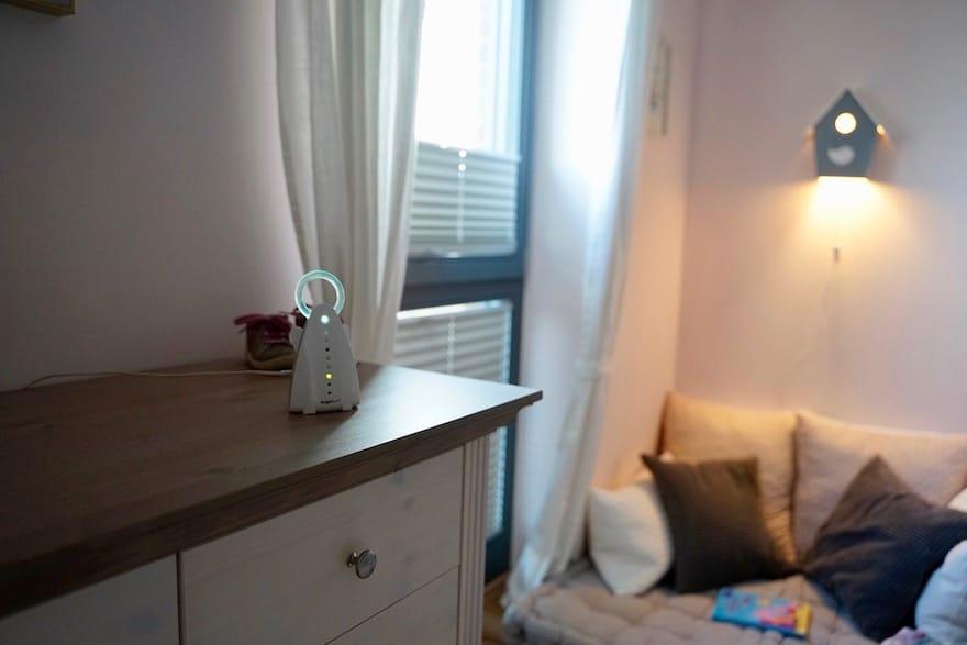 Babyphone im Hotel auf Reisen