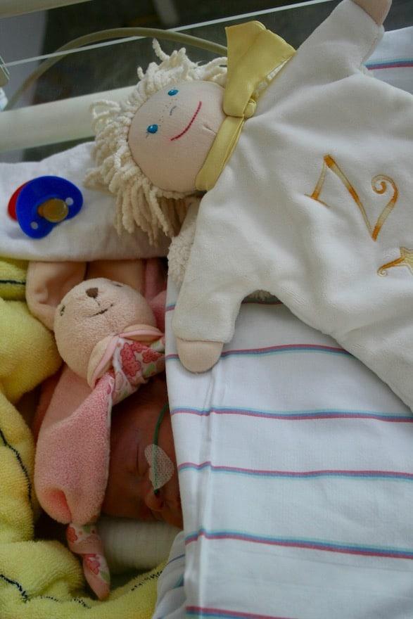 Kinderspielzeug im Krankenhaus
