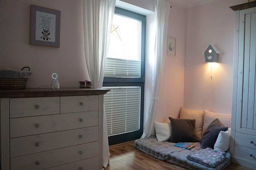 Zimmer mit reduzierter Strahlenbelastung