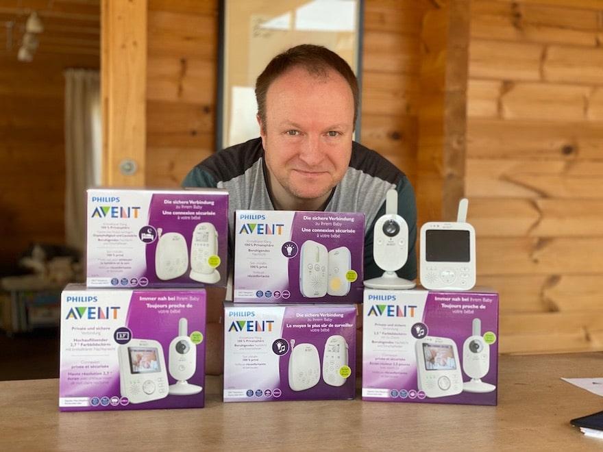 Philips Avent Babyphone test